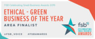 Ethical - Green Business of the Year Area Finalist