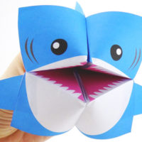 Mr Sharky Origami