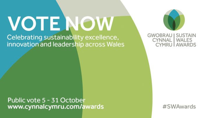 Sustain Wales Awards Vote Now